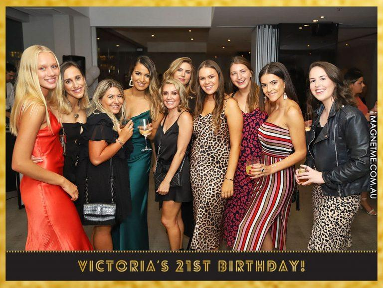 21st Birthday fun with the girls