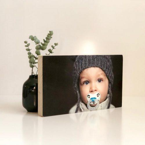 Pic on Wood – Large Pine Rectangle