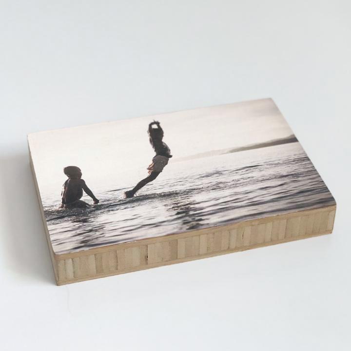 Photo on a Medium Bamboo