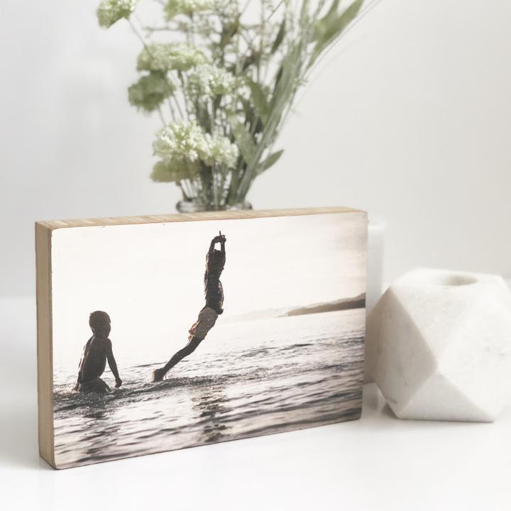 Pic on Wood Medium Bamboo