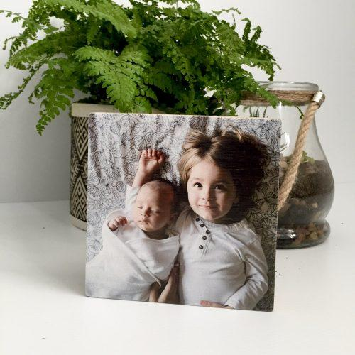 Pic on Wood – Large Bamboo Square