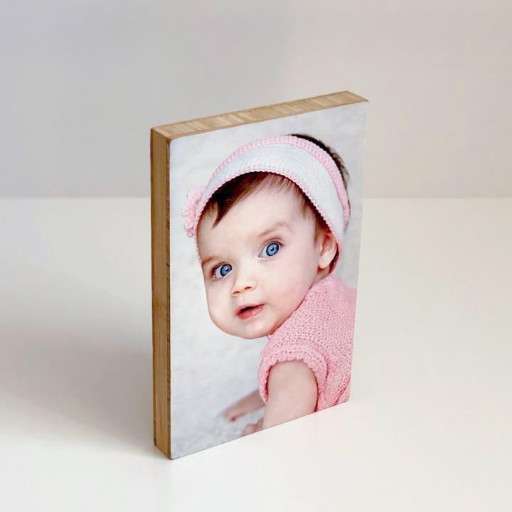 Solid Bamboo with a photo Magnet-Me Shop