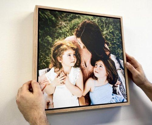 Floating Photo Frame Square