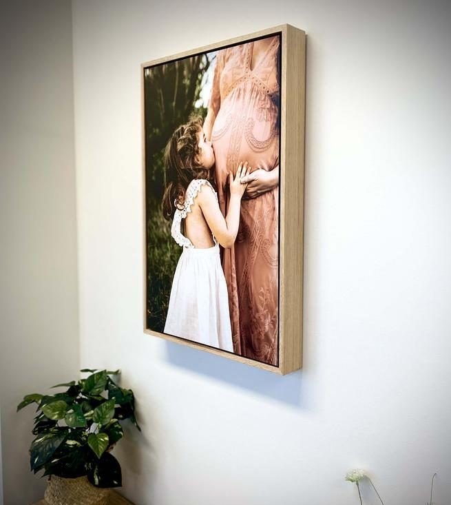 Wall mounted Floating Photo frame rectangle