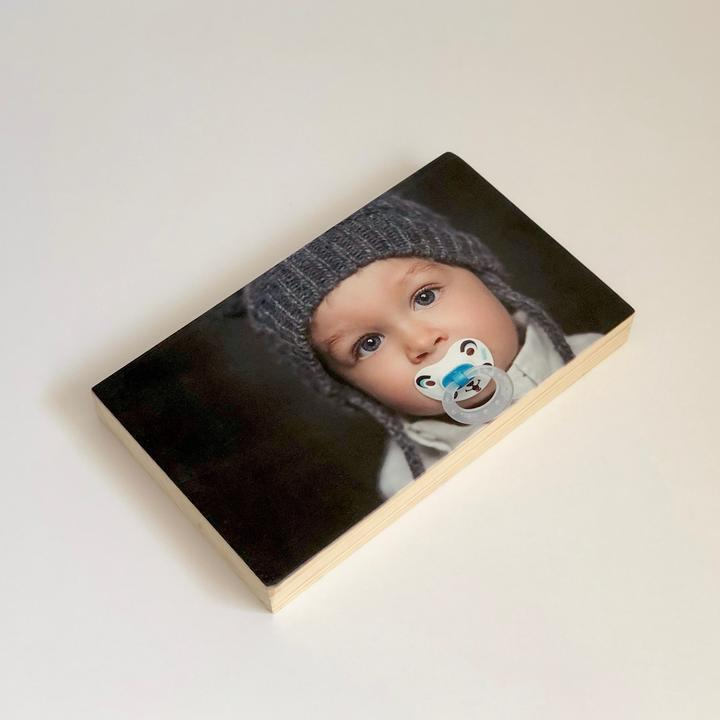 Pic on Wood - Large Pine Rectangle - image Wood-Large-Pine-picture-Rectangle on https://magnetme.com.au