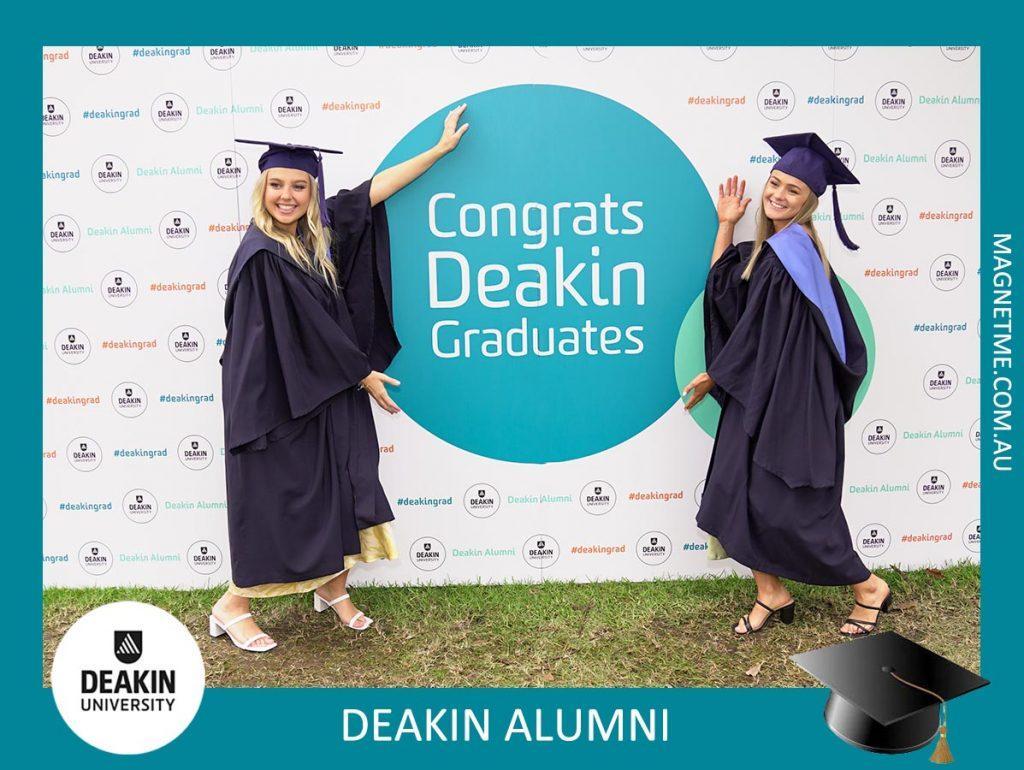 Deakin Gratuation Photo Magnets